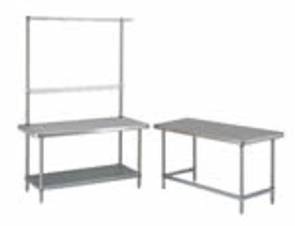 Stainless Steel Work Stations, Metro Tables by Cleanroom World