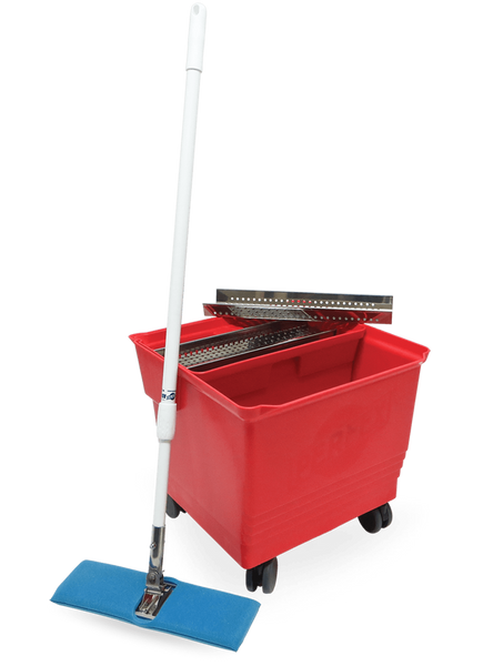 Cleanroom Mop Bucket Systems, Perfex TruClean Disinfection System PF-30-1 by Cleanroom World