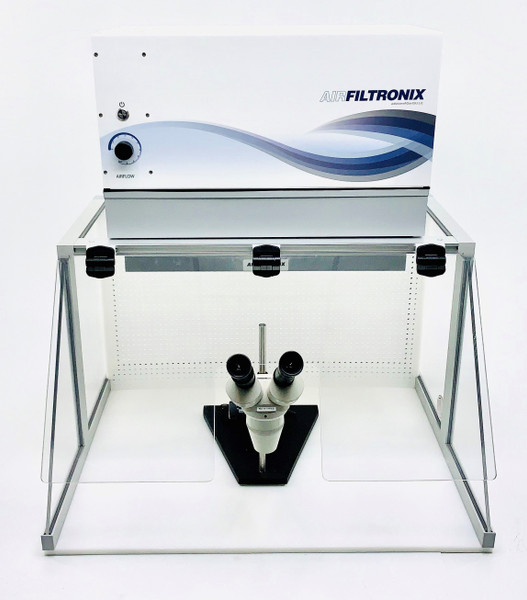 Negative Pressure Inflow Cabinet with Microscope Cutout by Cleanroom World