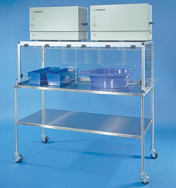Ductless Fume Hoods, Glutaraldehyde Workstation by Cleanroom World