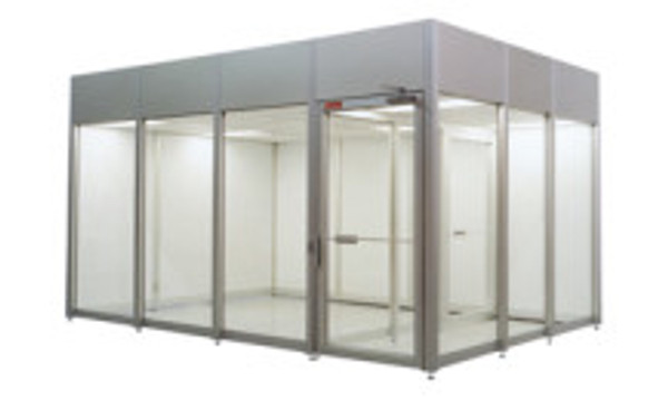 Acrylic Hardwall Modular Cleanrooms 16'x16'x8'H by Cleanroom World