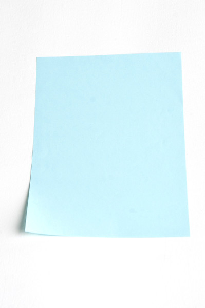 """Cleanroom Paper, 8.5"""" x 11"""", Blue by Cleanroom World"""