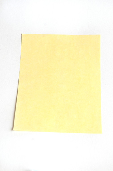 """Cleanroom Paper, 8.5"""" x 11"""", Yellow by Cleanroom World"""