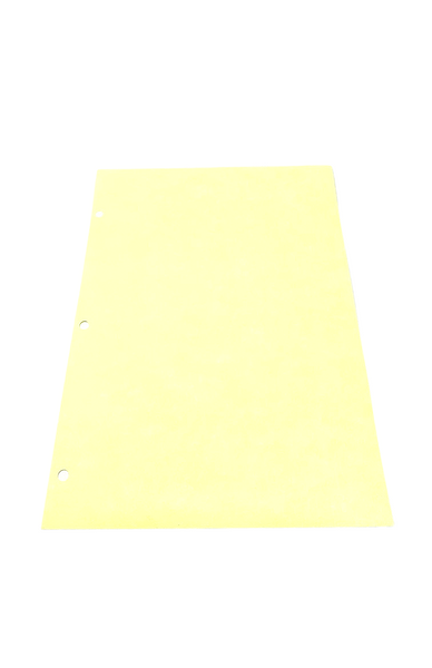 "Cleanroom Paper, 8.5"" x 11"", 3 Hole Punched, Yellow by Cleanroom World"