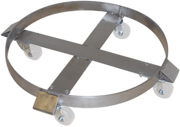 Stainless Steel Drum Dolly     - Cleanroom by Cleanroom World