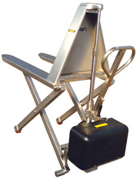 Stainless Steel Electric High Lifts, Type 316 Stainless Steel Forks by Cleanroom World