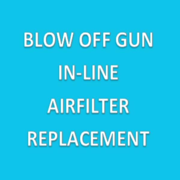 Replacement In-Line Air Filter; SIMCO REPLACEMENT IN-LINE AIR FILTER FOR BLOW OFF GUN By Cleanroom World