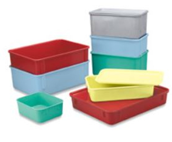 "Green Fiberglass Nest Only Containers, 9.8""x 6.2""x 4.5"" by Cleanroom World"