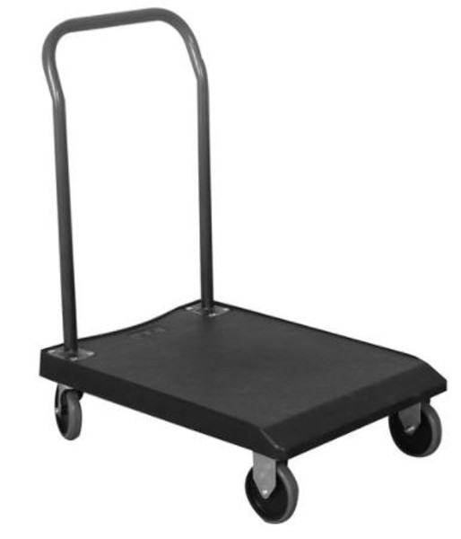 Plastic Platform Carts, Value Plastic by Cleanroom World