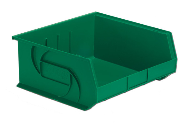 """Parts Bins, 14"""" x 16"""" x 7""""H, Green by Cleanroom World"""