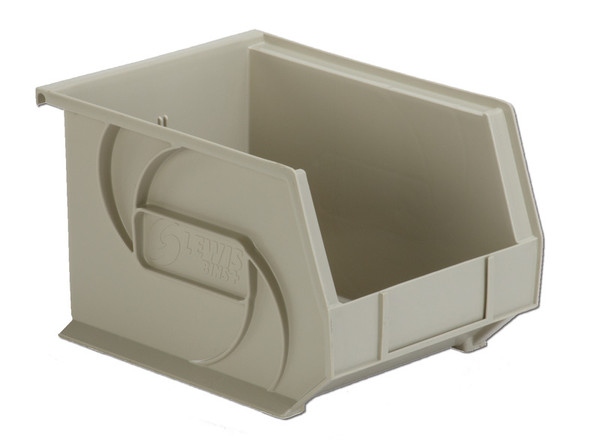 "Parts Bins, 10""x8""x7""H, Stone by Cleanroom World"