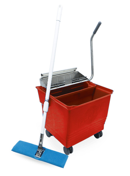 Perfex Mop Bucket System, Red by Cleanroom World