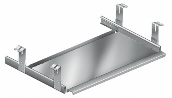 Computer Keyboards; Eagle Table Accessories, Stainless Steel, Table Mount By Cleanroom World