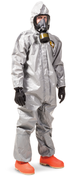 Kappler Zytron 200 Coveralls with Attached Hood, Bound Seams, XS by Cleanroom World