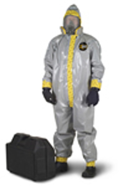 Kappler Zytron 200 Coveralls with Attached Hood and Boots, Heat Sealed Seams, XS-4XL by Cleanroom World