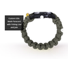 The Kodiak Survival Paracord Bracelet Made in the USA