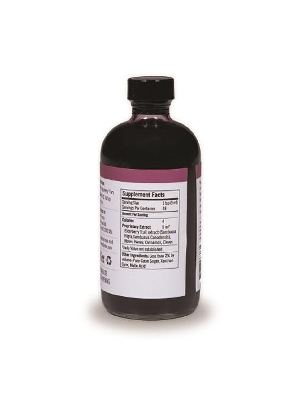 Elderberry Wellness Syrup (8 oz.) glass bottle by Norm's Farms