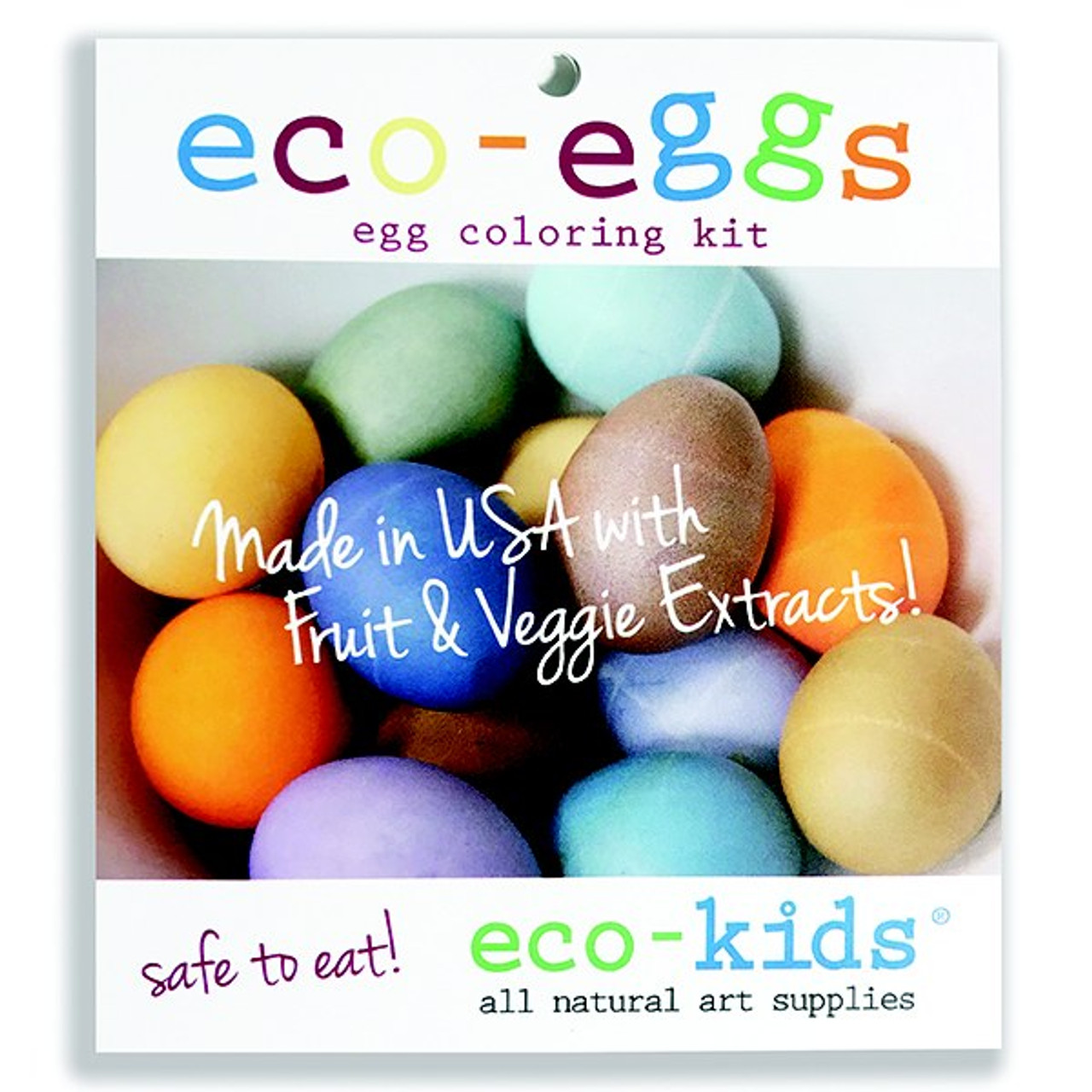 eco-kids eco-eggs coloring kit (dye only)