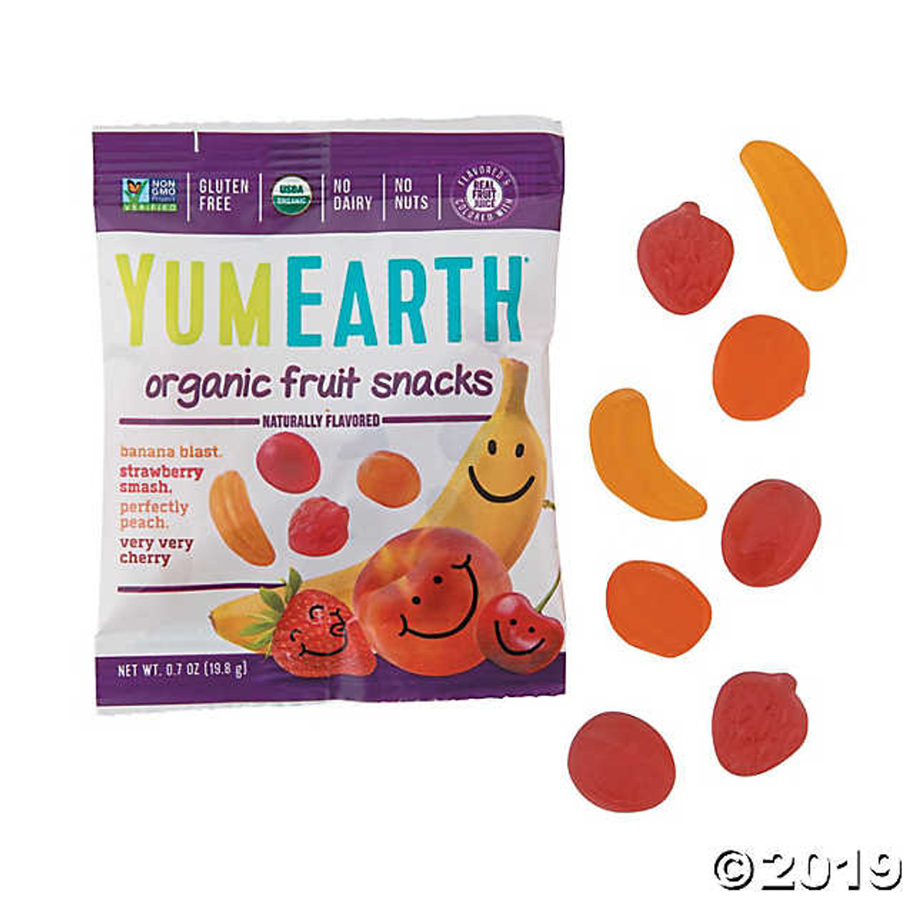 Single Pack Organic Fruit Snacks by YumEarth