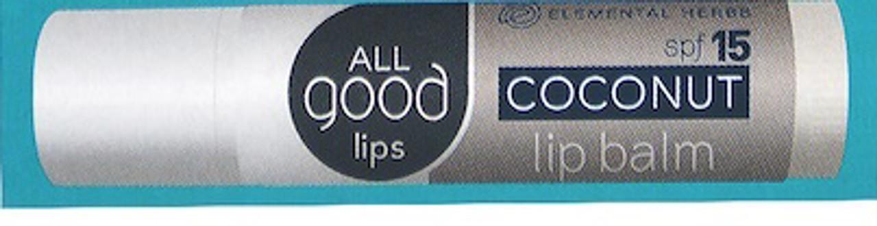 Coconut spf 15 ALL Good Lips Lip Balm