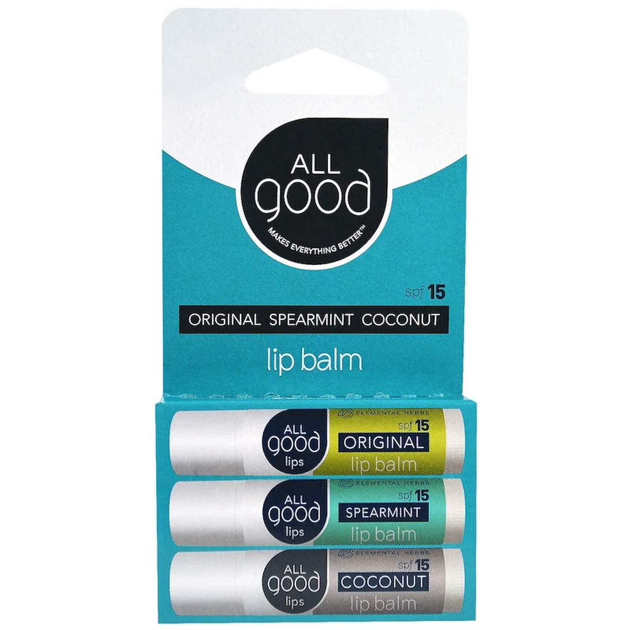 ALL Good Lips spf 15 - 3 Pack