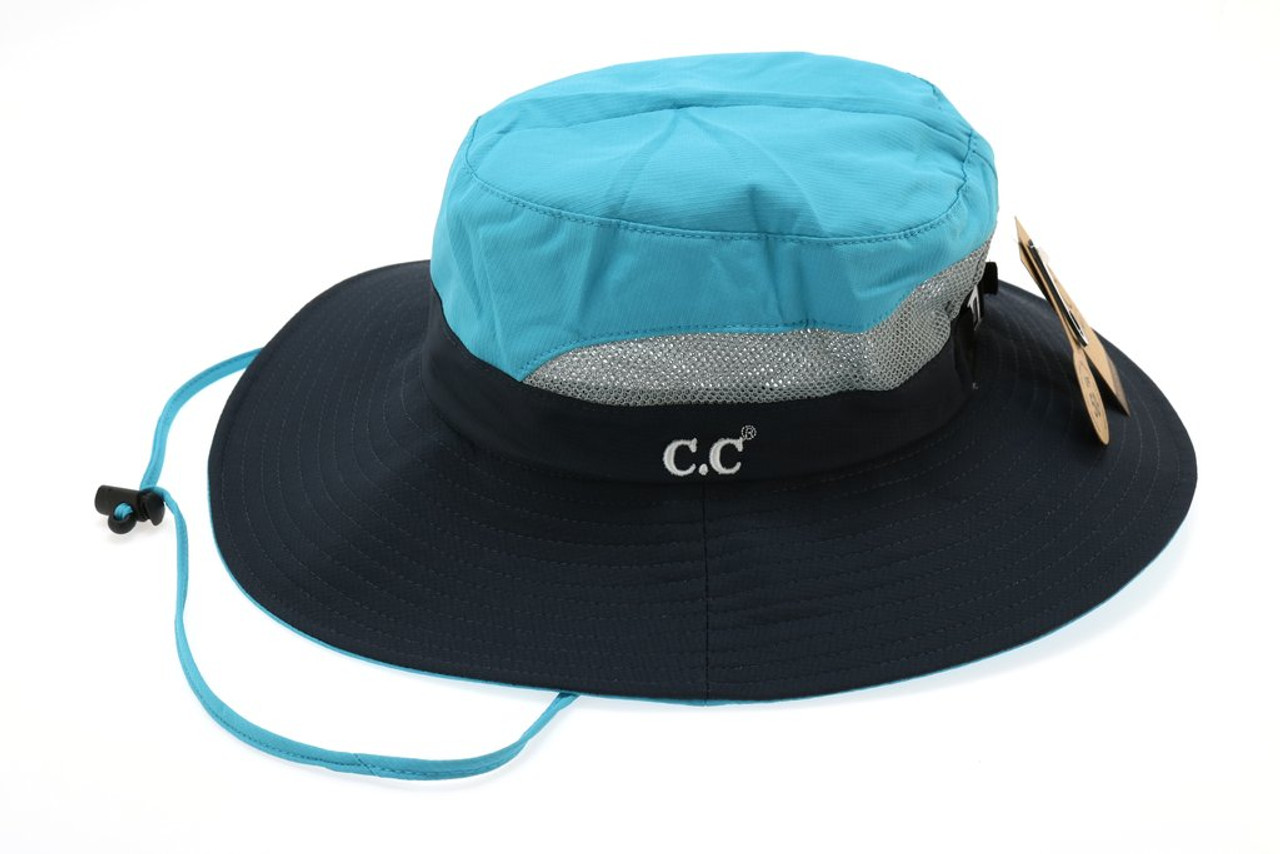 Messy Bun Bucket Hat by CC Beanie