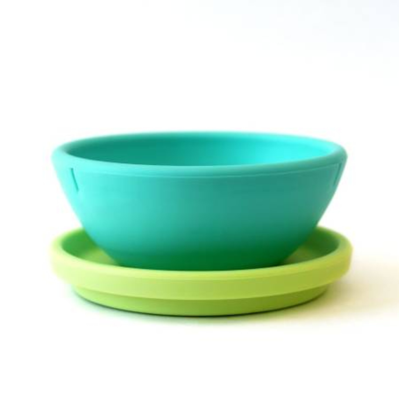 Silicone Bowl with Plate Lid set by Gosili