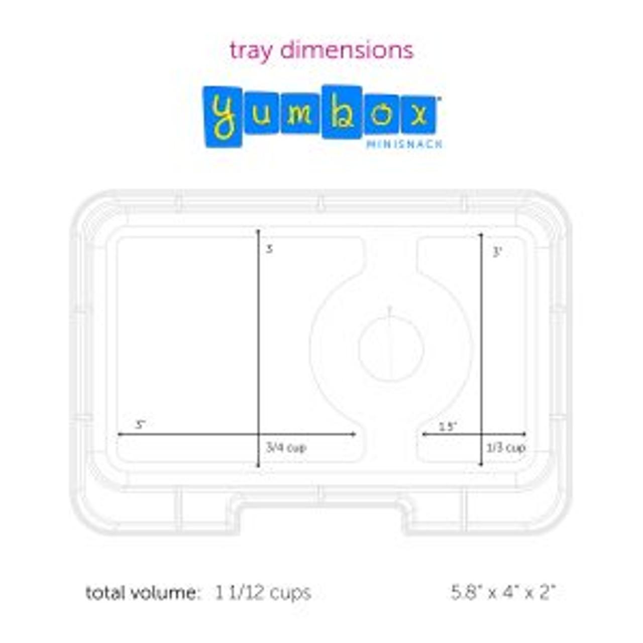 Yumbox Mini Snack Bento Box