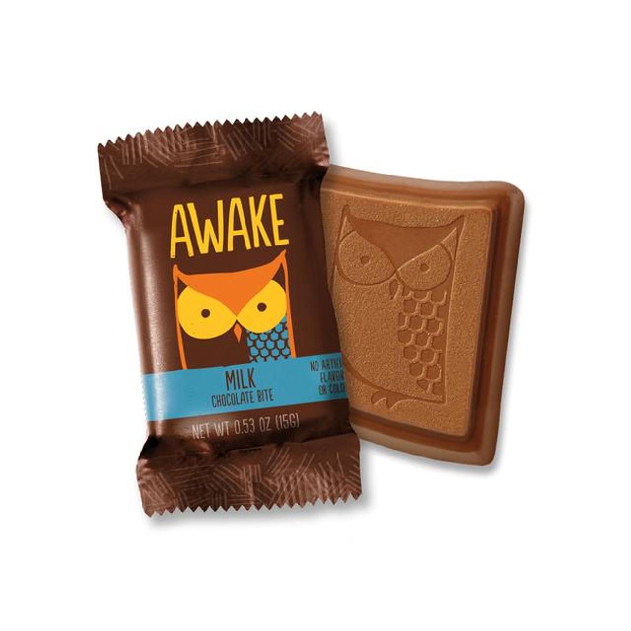 Awake Caffeinated Milk Chocolate Bites