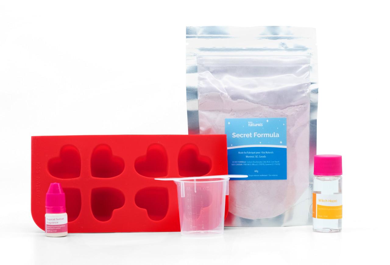 Kiss Natural DIY Bath Fizzie Kit