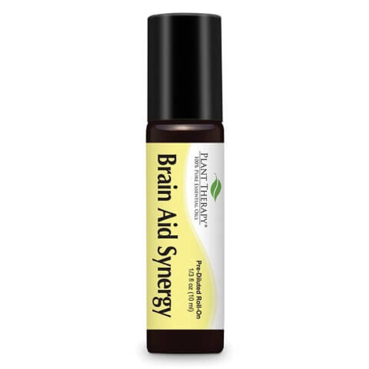 Brain Aid Synergy Essential Oil 10 mL ROLL ON by Plant Therapy