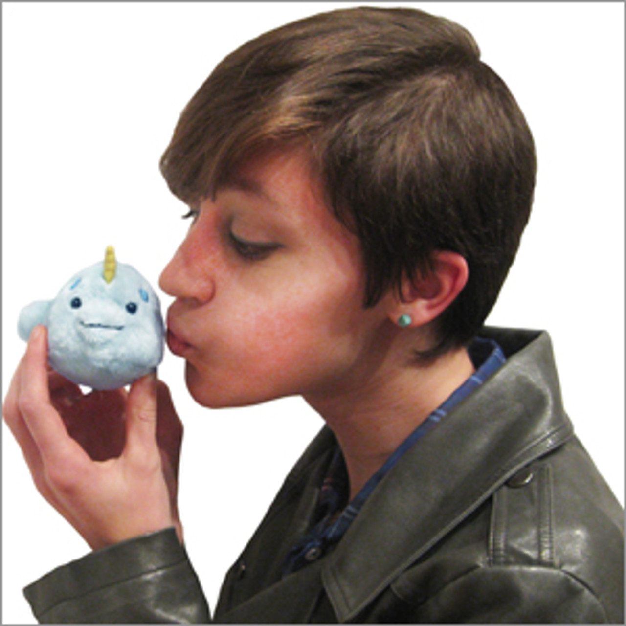 Narwhal Micro Charm Squishables