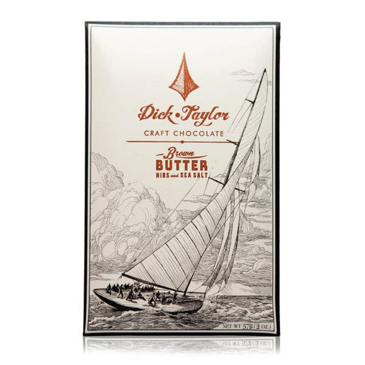 Brown Butter Sea Salt and Nibs Chocolate Dick Taylor Craft Chocolate