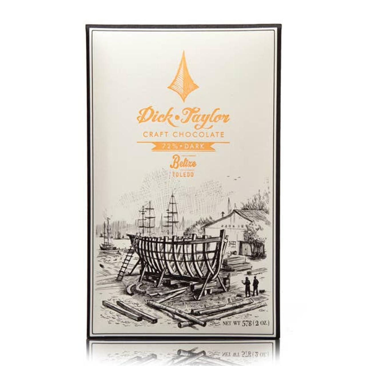72% Belize Toledo Chocolate Dick Taylor Craft Chocolate