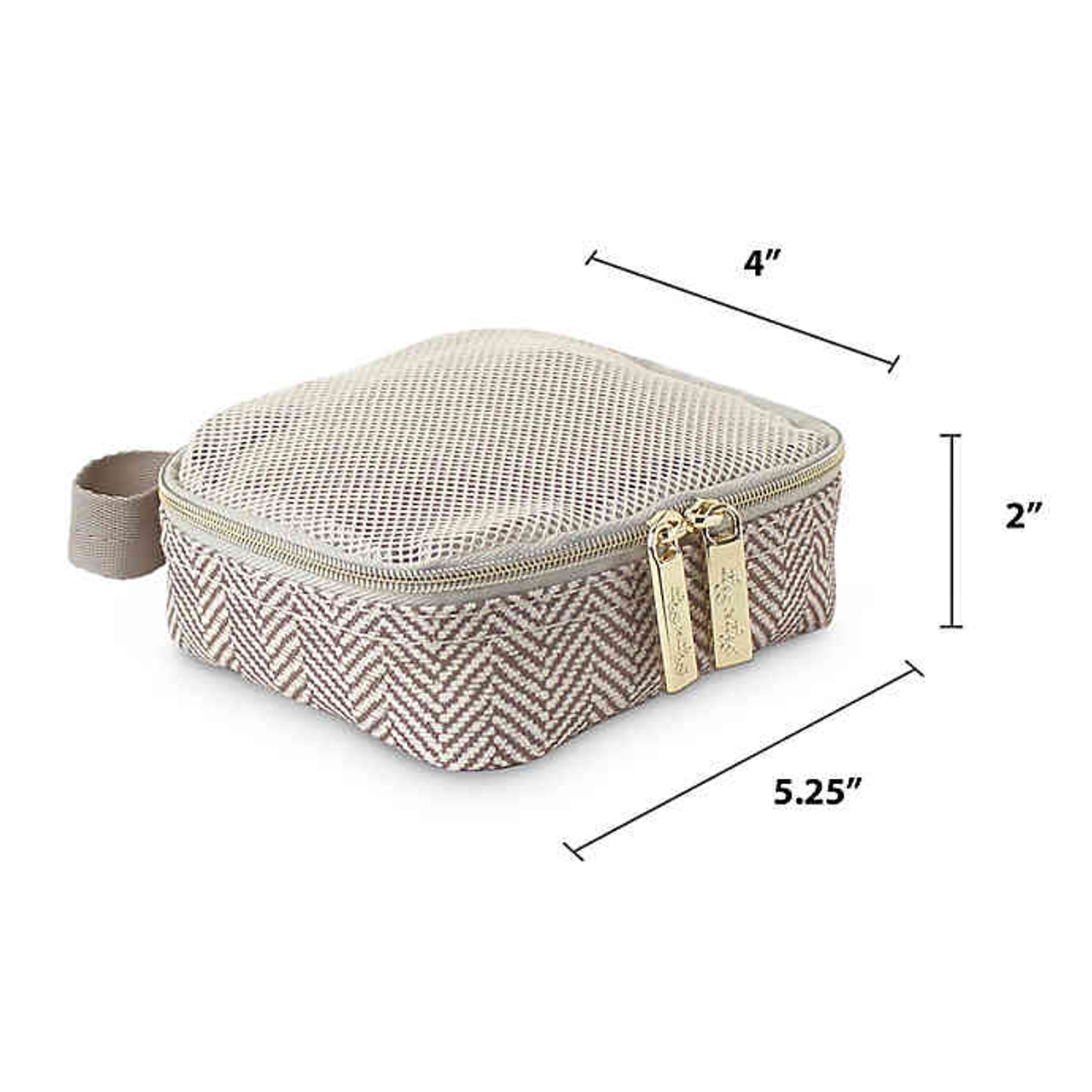 Taupe Packing Cubes by Itzy Ritzy