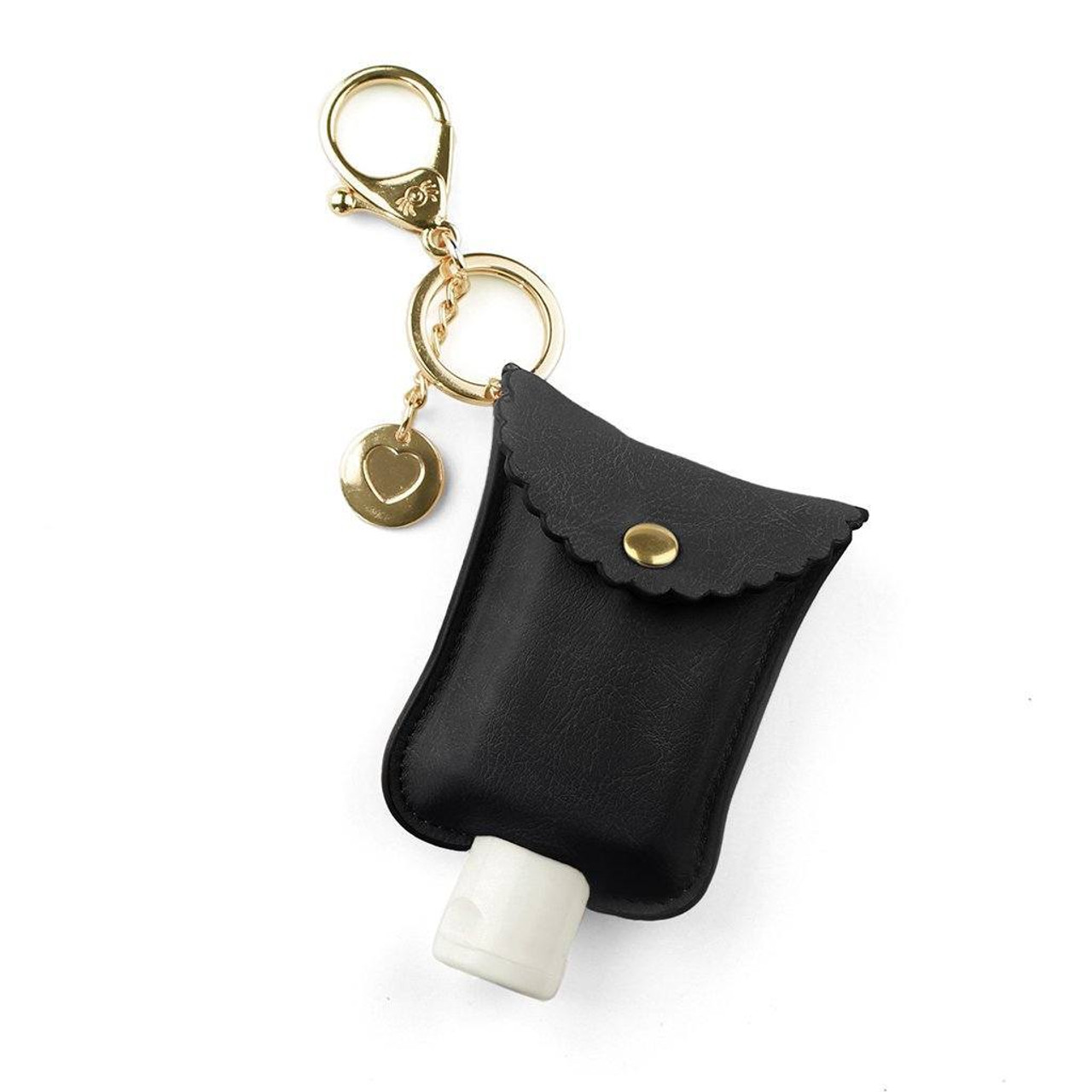 Black Cute and Clean Sanitizer Charm by Itzy Ritzy