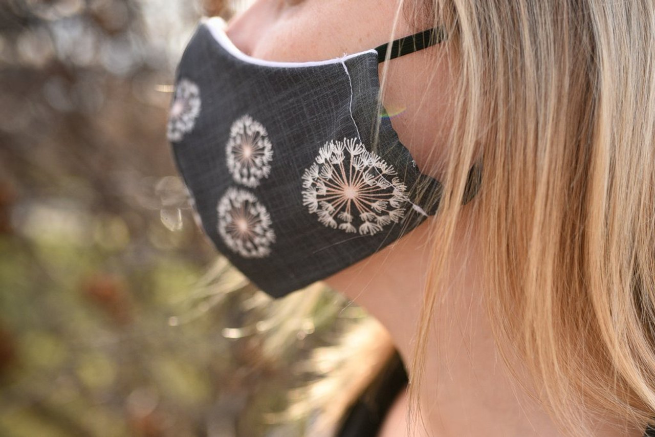 Face Mask with Elastic Ear Loops by Colibri