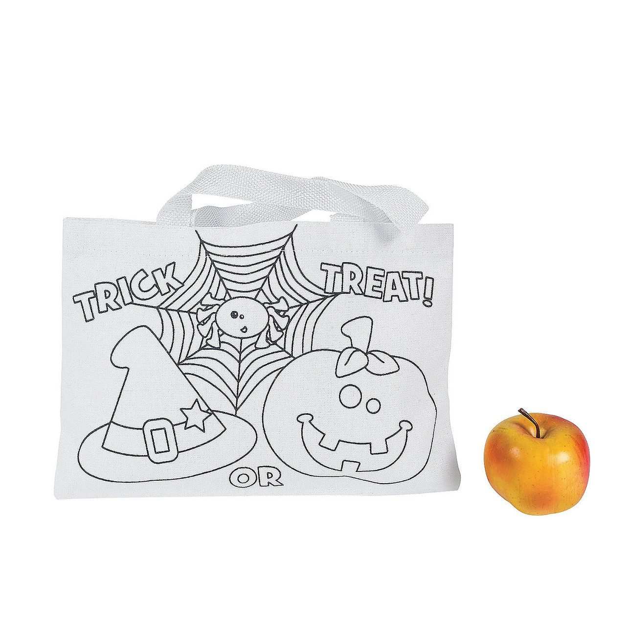 Color Your Own Small Trick or Treat Bag