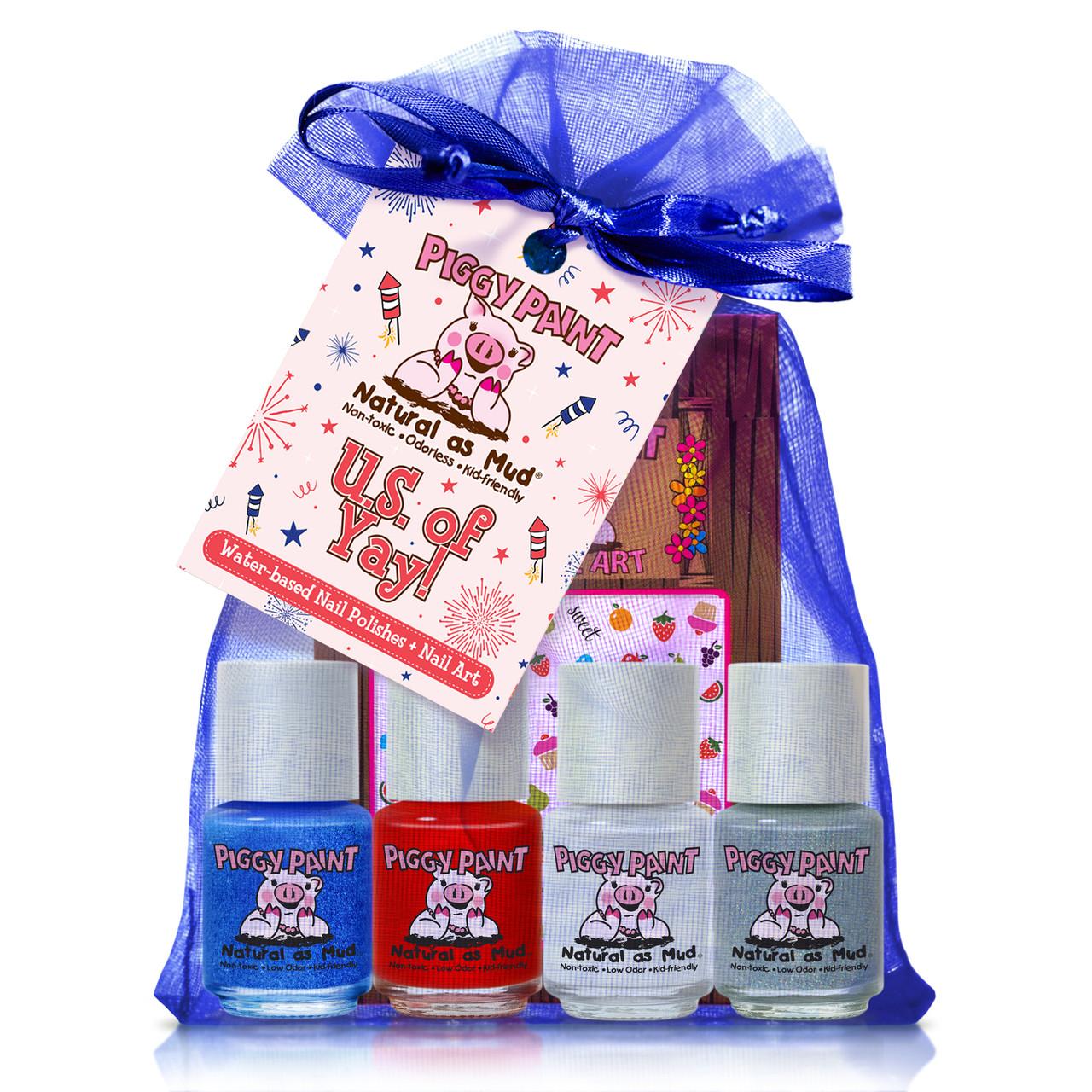 Piggy Paint U.S. of YAY! Gift Set