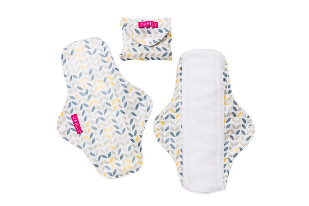 Dahlia Reusable Menstrual Pads 3 Pack
