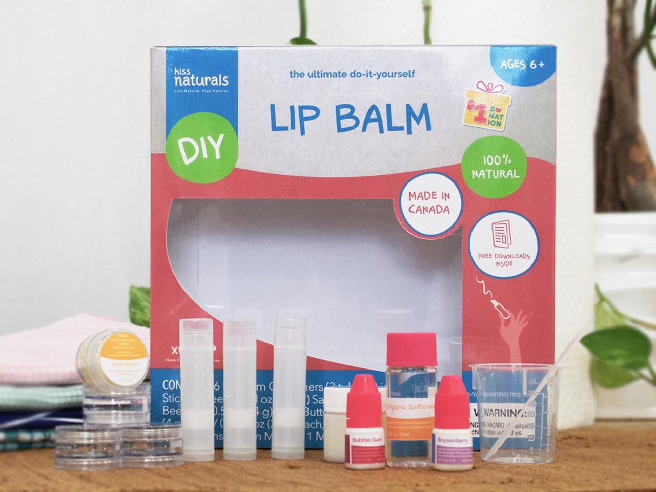 Kiss Natural DIY Lip Balm Kit