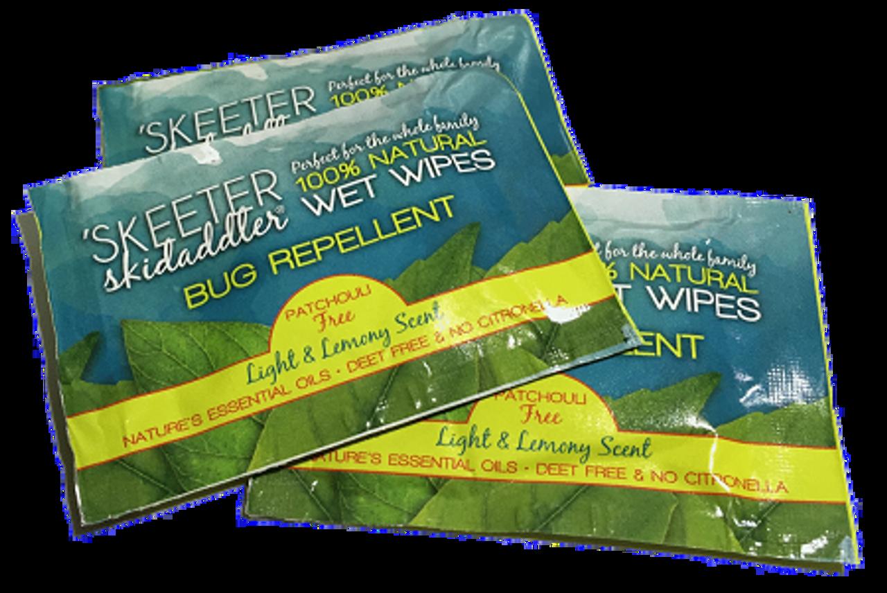 100% Natural Bug Repellent Wipe