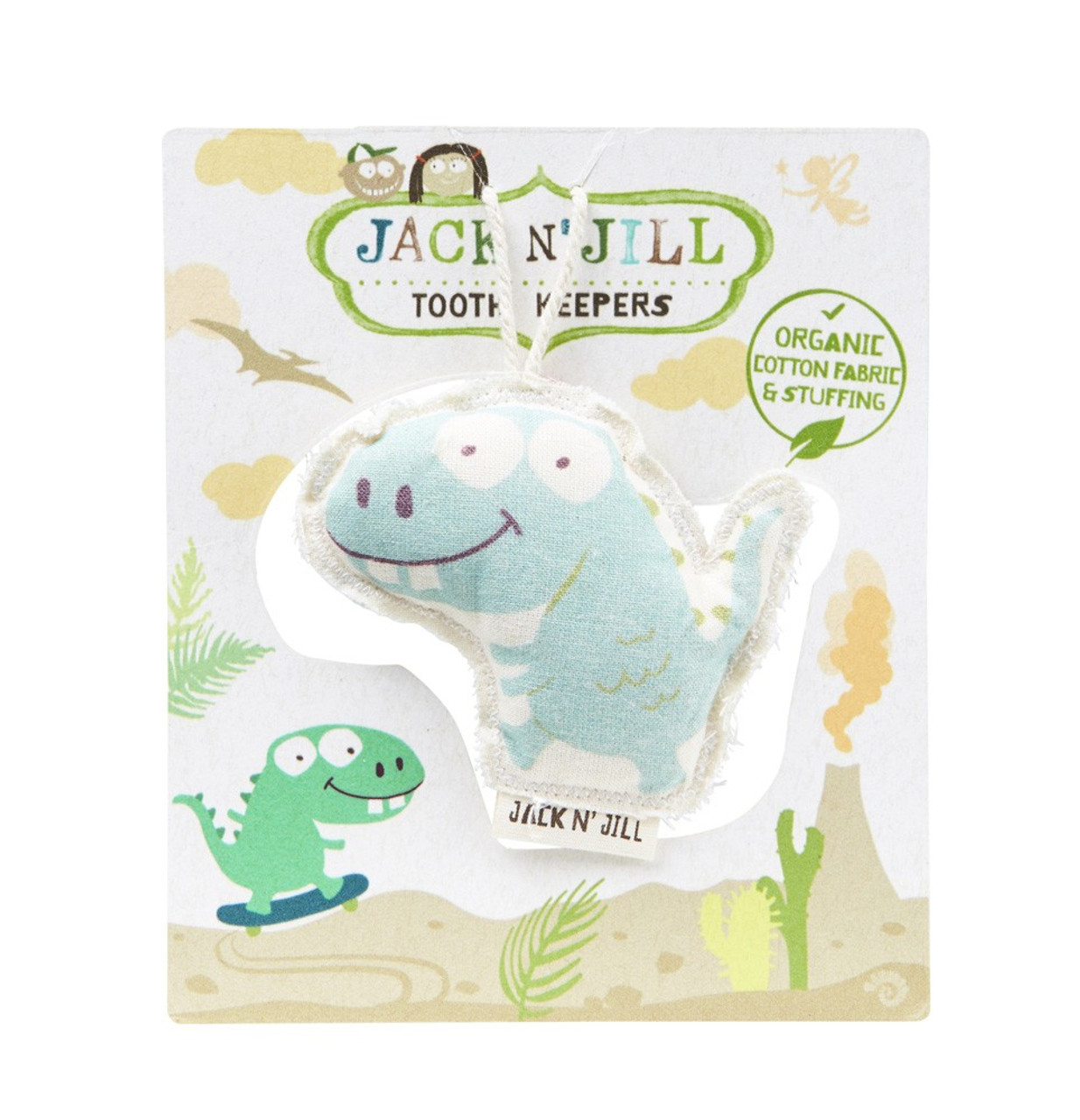 Jack & Jill Tooth Keeper DINO