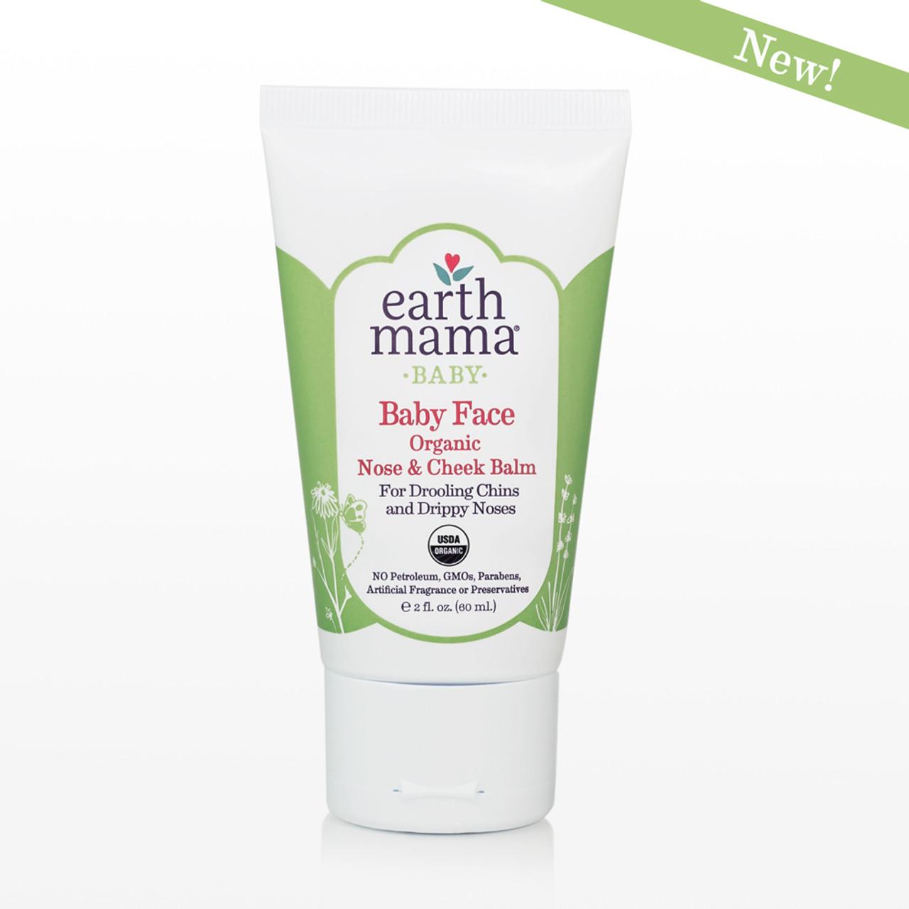 Baby Face Organic Nose & Cheek Balm from Earth Mama Organics