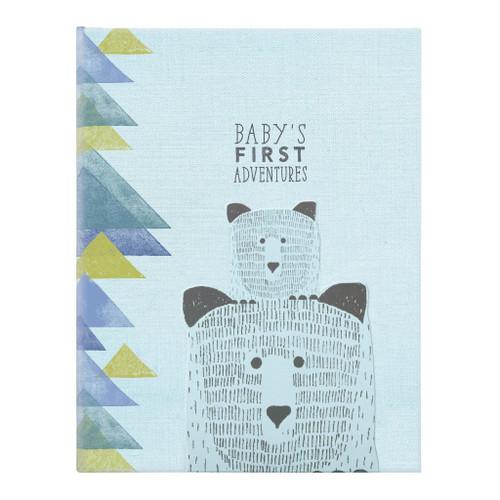 BABY MEMORY BOOK - ADVENTURE AWAITS