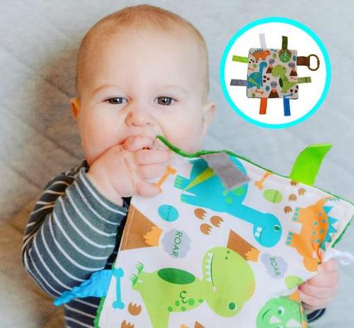 """Baby Jack Crinkle Lovey 8""""x 8"""""""