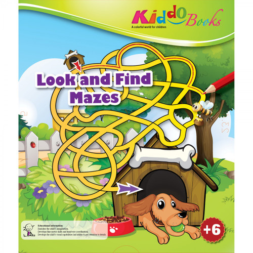 Look and Find Mazes Booklet