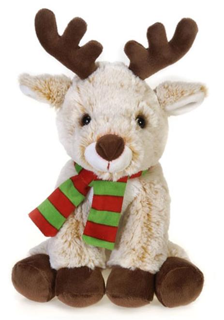 "Festive Scarf Reindeer 9"""