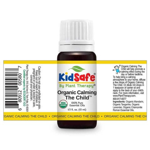 KIdsafe Calming the Child Organic KidSafe Essential Oil 10 mL by Plant Therapy