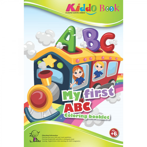My First ABC Activity Booklet